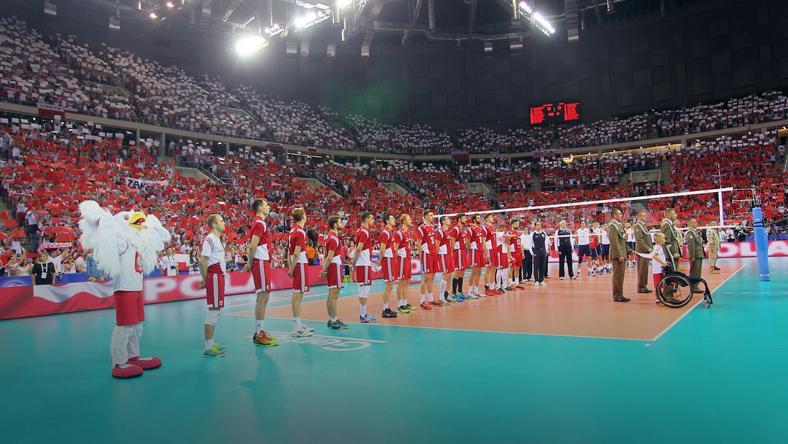 Reprezentacja Polski w Tauron Arenie Kraków