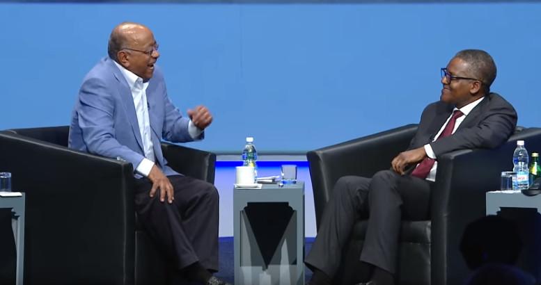 Mo Ibrahim in conversation with Aliko Dangote
