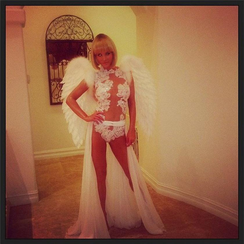 Joanna Krupa jako anioł