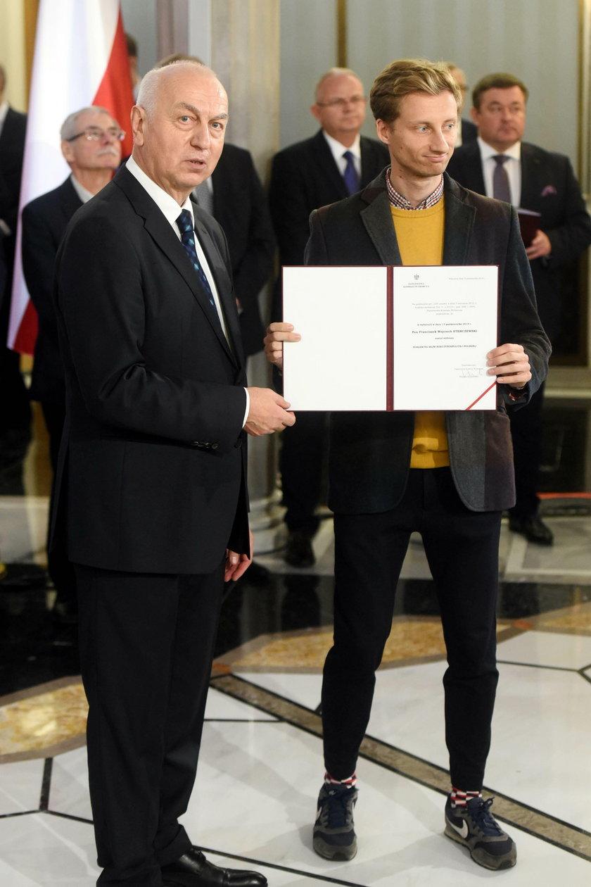 Tak przyszedł do Sejmu! Uwagę zwrócił jeden szczegół