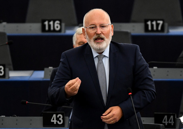 Frans Timmermans w PE