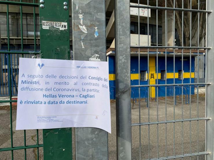 Bentegodi stadion korona virus