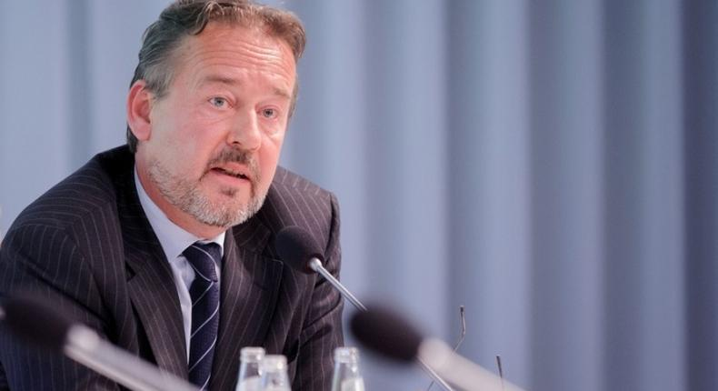 Christoph Retzlaff, GBC GhanaGerman Ambassador to Ghana