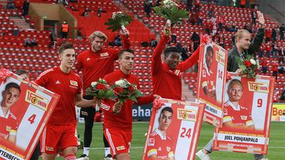 Liverpool forward Taiwo Awoniyi given send-off by Union Berlin after loan stint in Germany