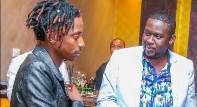 Eric Omondi and Mwalimu Churchill