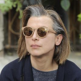 Siwa Katarzyna Herman na planie najnowszej komedii Juliusza Machulskiego
