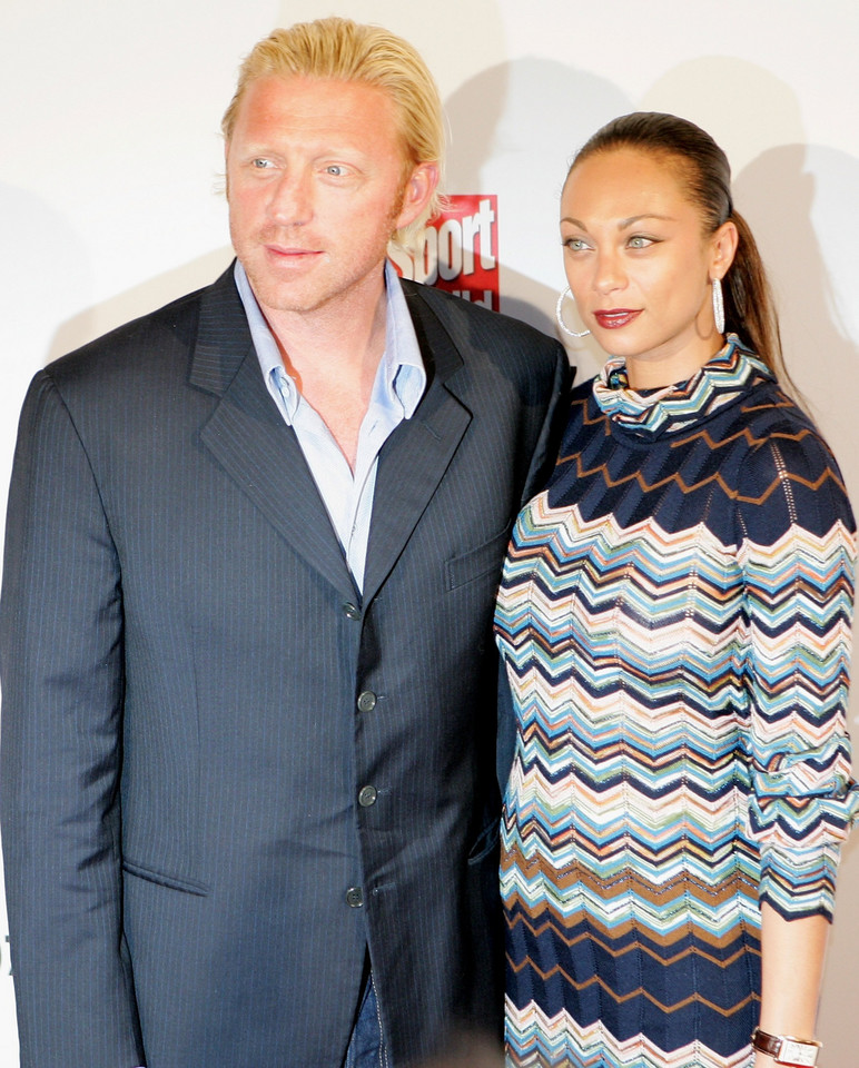 Lilly Becker i Boris Becker w 2007 roku