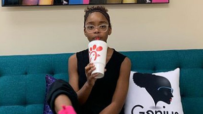 Marsia Martin of Blackish fame is the youngest executive producer in Hollywood!