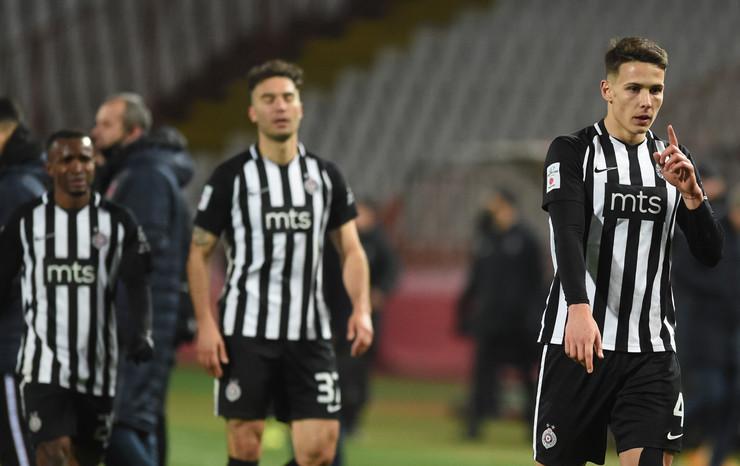 Detalj sa meča FK Crvena zvezda - Partizan