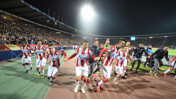 Crveno-beli slave trijumf nad Liverpulo mu Ligi šampiona