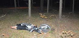 Grzybiarka znalazła konającego motocyklistę
