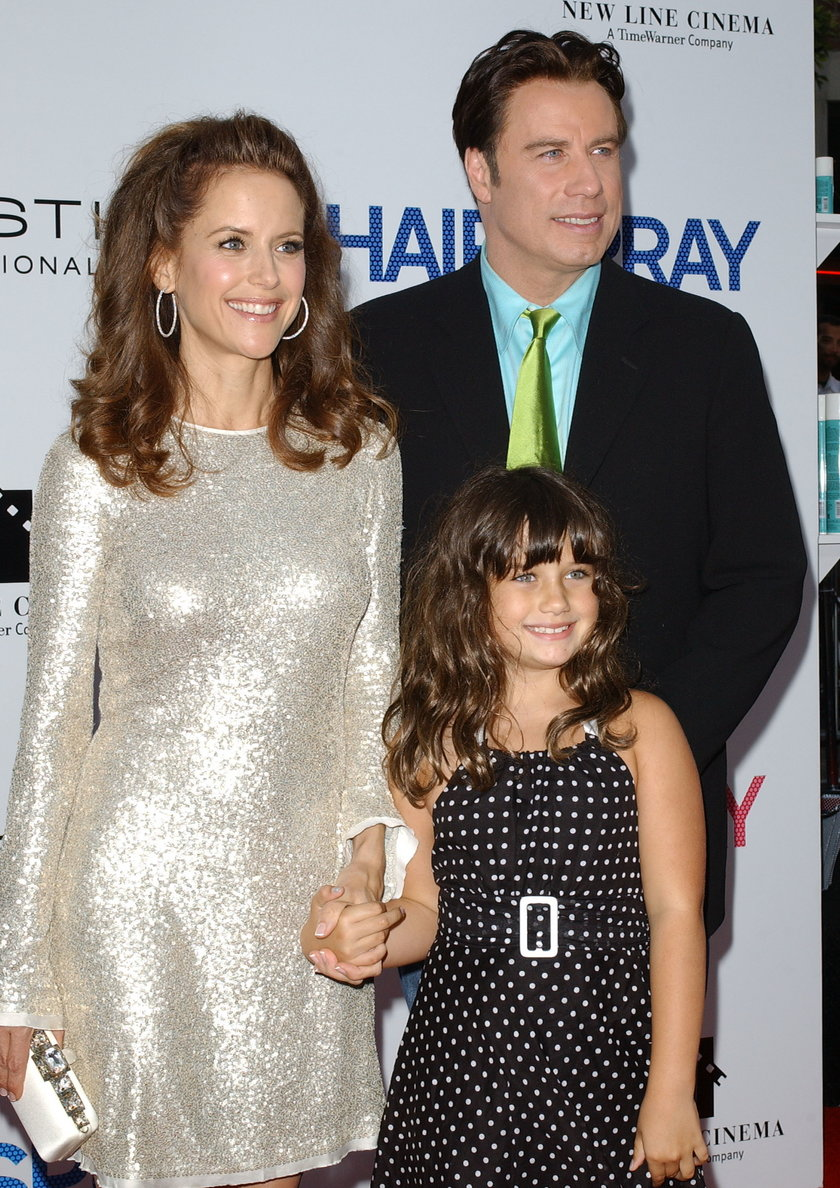 John Travolta z rodziną