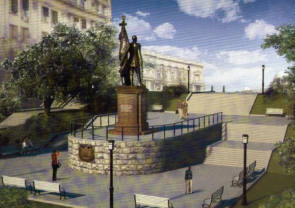 Spomenik Nikolaju Romanovu