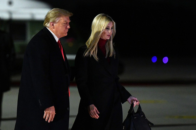 Ivanka i Donald Tramp