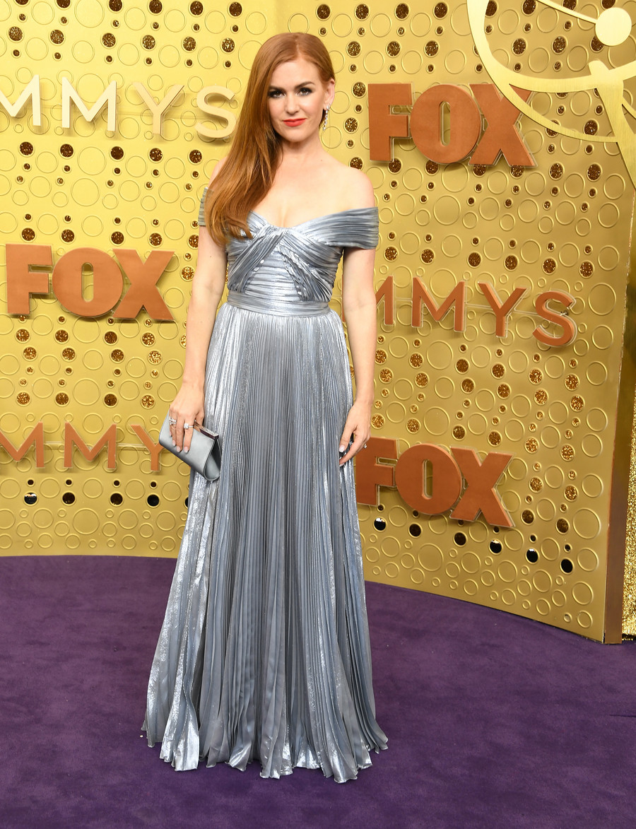 Isla Fisher Emmy 2019 / Steve Granitz / GettyImages