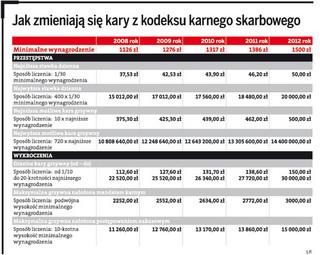 Wzrosną kary i grzywny dla nieuczciwych podatników