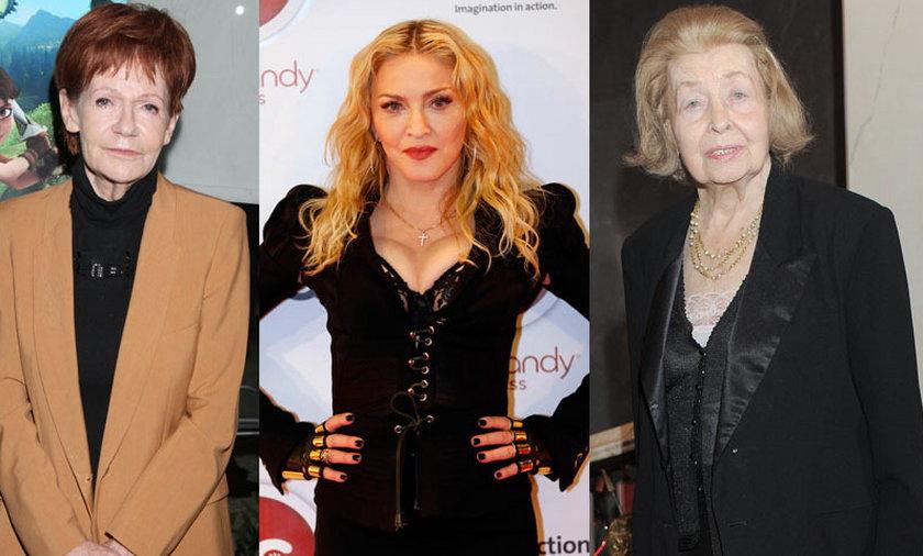 Maria Czubaszek, Madonna, Nina Andrycz