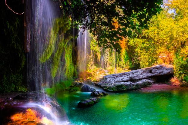 Wodospad Kursunlu, Turcja
