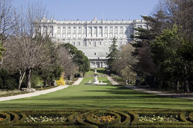 Campo del Moro, Madryt