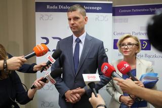 Spotkanie ministra edukacji z przedstawicielami oświatowej 'Solidarności'