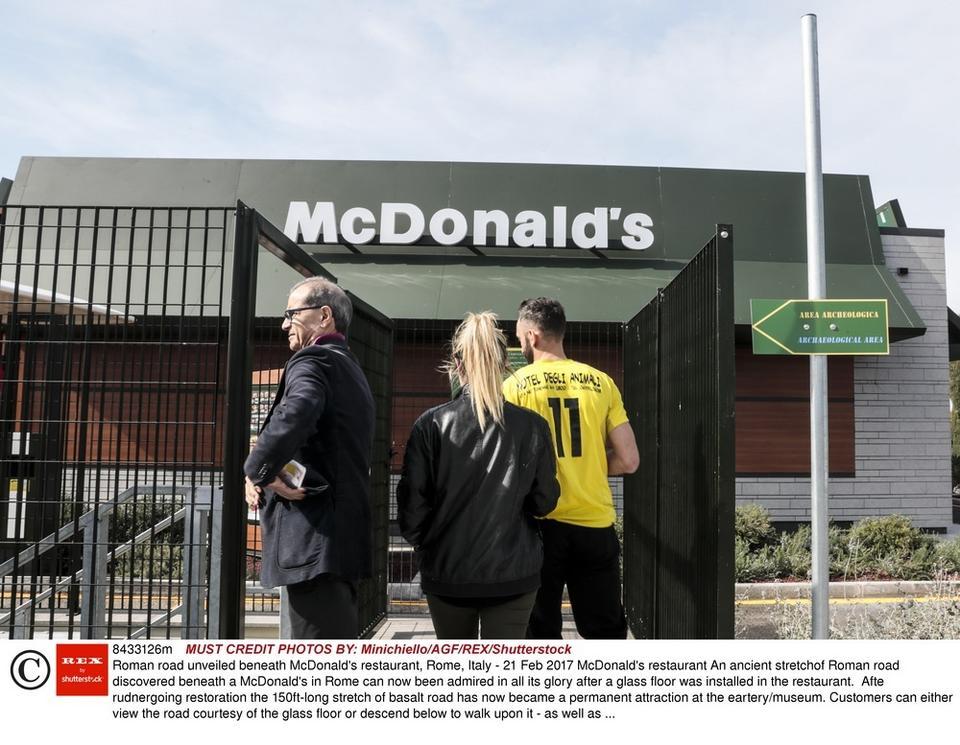 Pierwsza taka restauracja sieci McDonald's