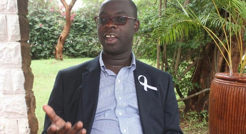Kibra MP (Ken Okoth) said he was a life member of ODM and he had already paid his nomination fees which meant that he was going all way to the nominations.
