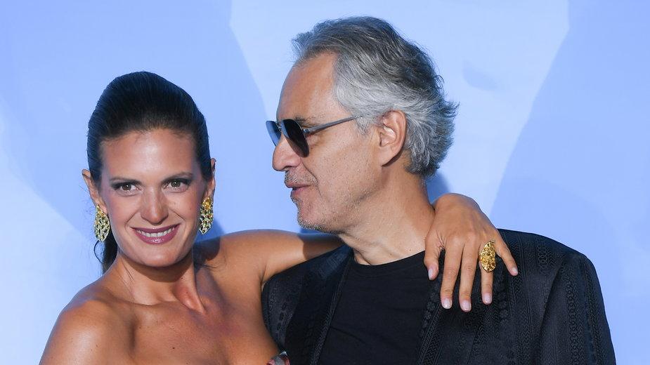 Veronica Berti i Andrea Bocelli