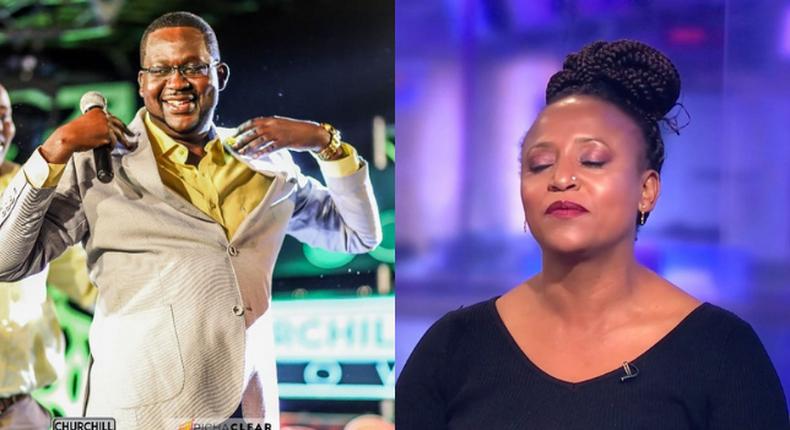 UK-based Kenyan comedian makes damming allegations against Mwalimu Churchill
