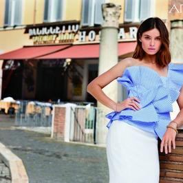 Piękna Kasia Smutniak w kampanii marki Apart. Zobaczcie wyjątkowe zdjęcia z Rzymu
