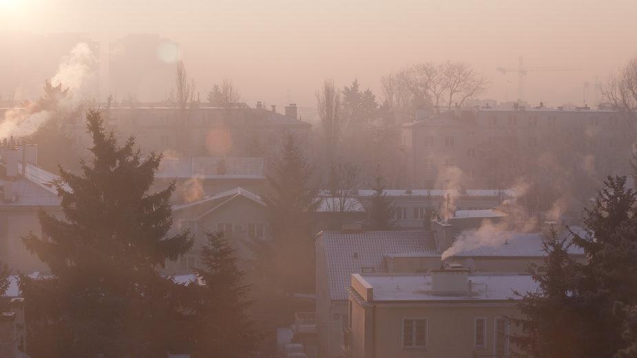 Smog (ilustracyjne)