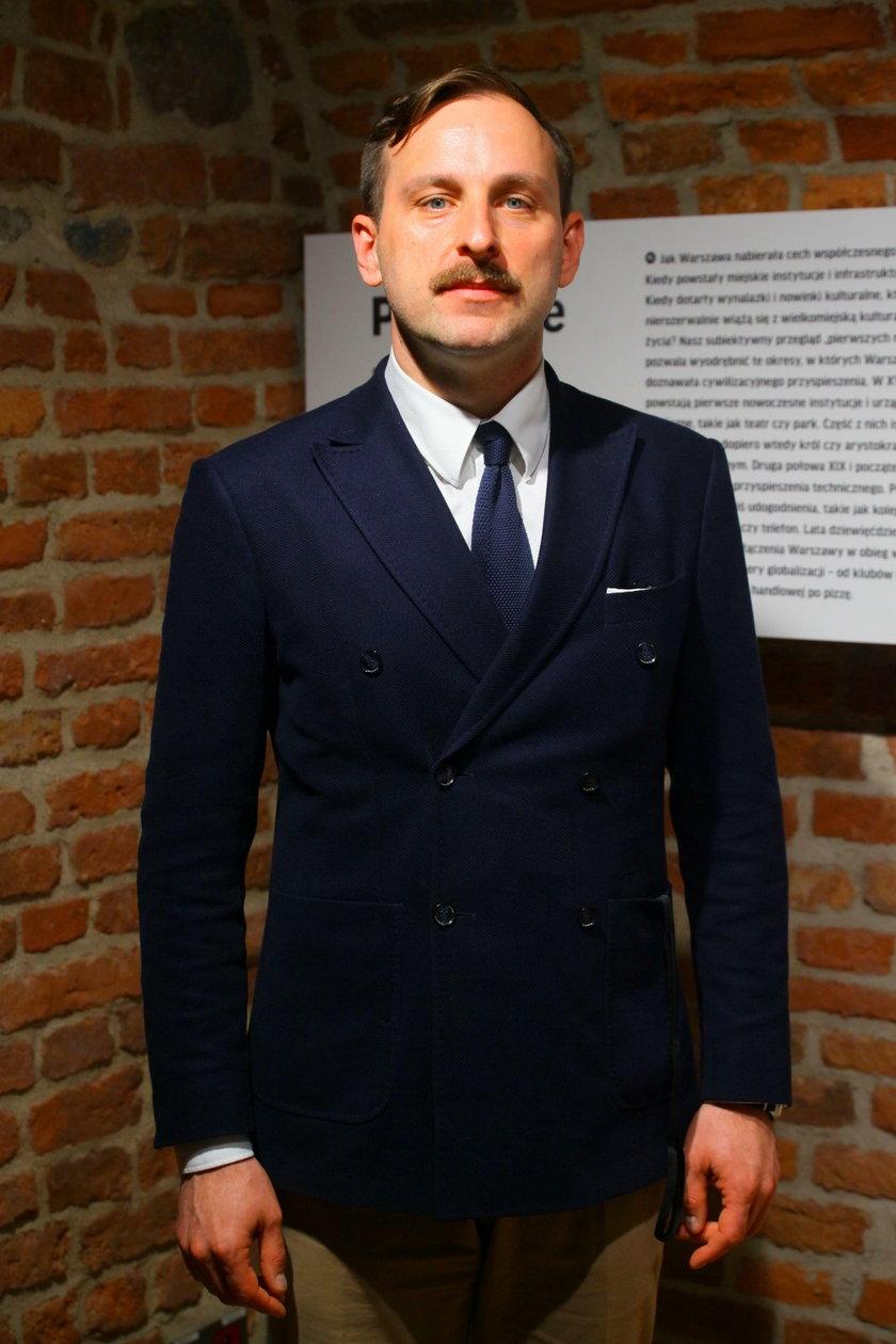 Jarosław Trybuś z Muzeum Warszawy: