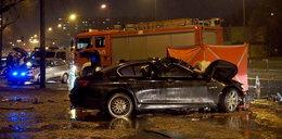 Ten człowiek w Łodzi zabił dwie osoby w BMW. Szuka go policja