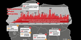 Tak przybywa ognisk zakażeń w Polsce. MAPA