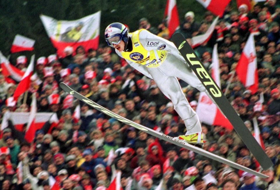 Adam Małysz w 2002 roku