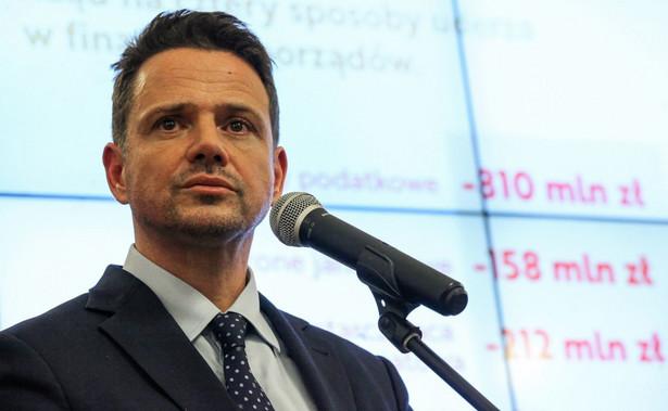 Rafał Trzaskowski prezydent Warszawy