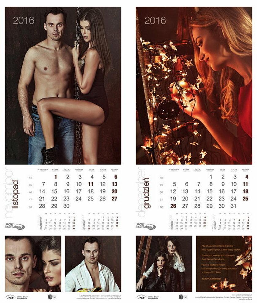 Wyjątkowy kalendarz z nagimi żużlowcami GALERIA