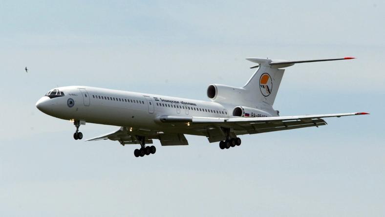 TU-154 zniknął z radarów i spadł do Morza Czarnego