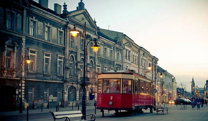 Kawiarnia w tramwaju