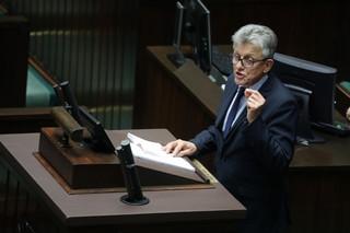 Piotrowicz: Pierwsze czytanie noweli o SN nie powinno odbywać się na sali plenarnej