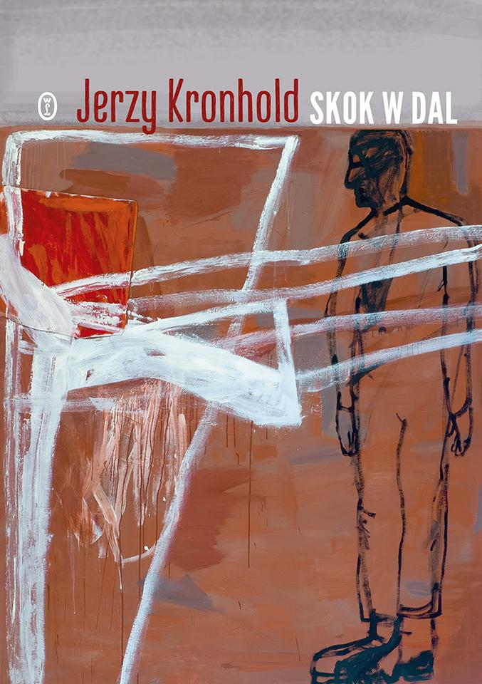 """POEZJA. """"Skok w dal"""" - Jerzy Kronhold, Wydawnictwo Literackie"""