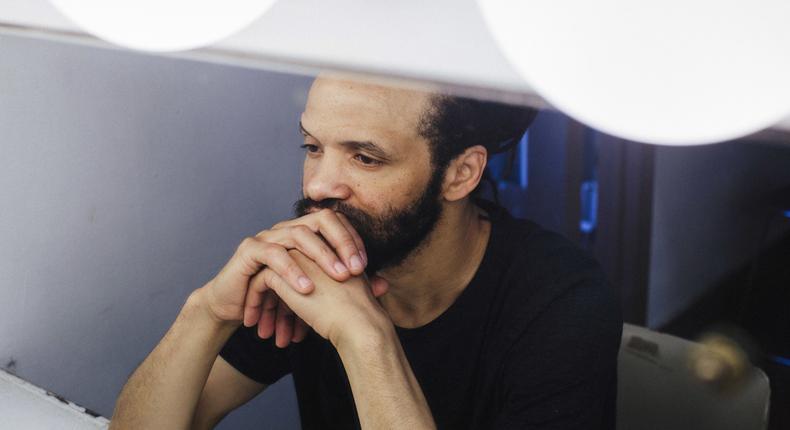 Savion Glover, listening to the sound of his own searching