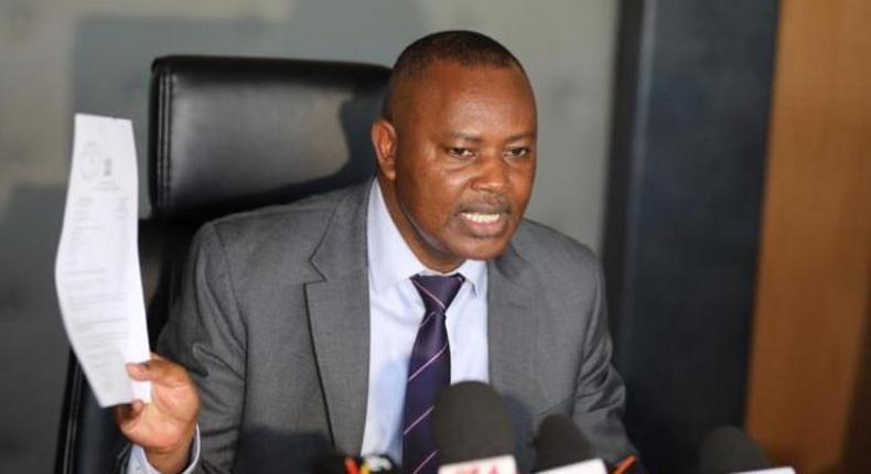 File image of DCI boss George Kinoti