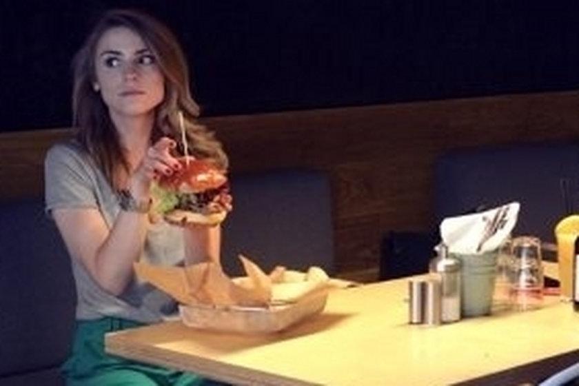 Kasia Tusk je hamburgera
