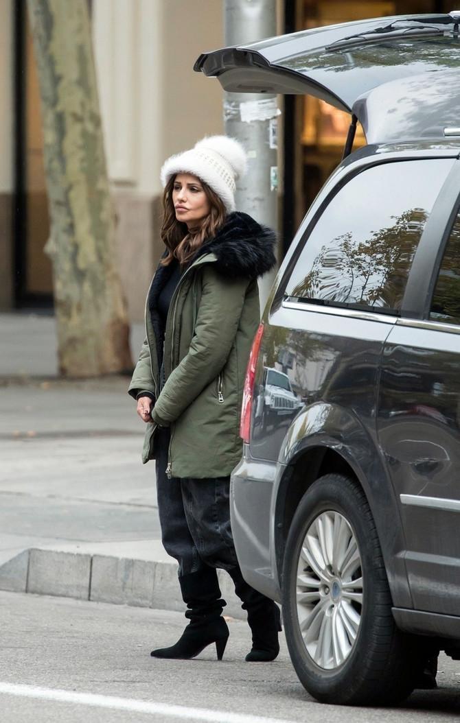 Monika Kruz u Madridu