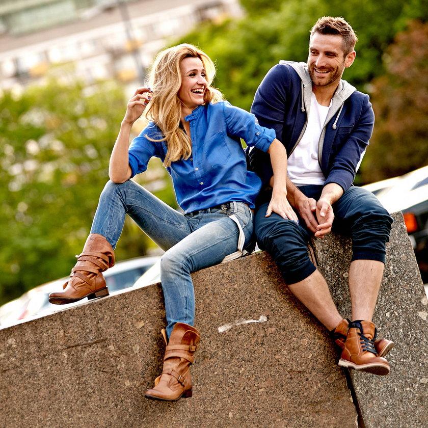 Joanna Koroniewska i Maciej Dowbor w reklamie