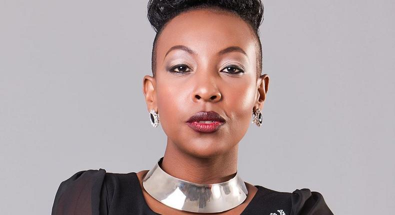 Mwalimu Rachel 's message as she gets awarded by YouTube