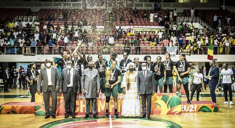 Nigéria champion d'Afrique