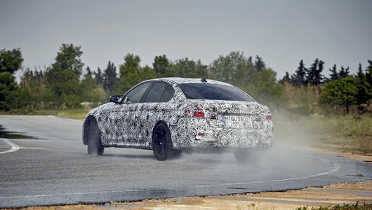 Nowe BMW M5 w akcji!