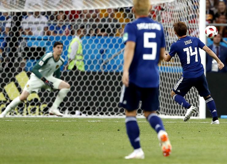 Fudbalska reprezentacija Belgije, Fudbalska reprezentacija Japana