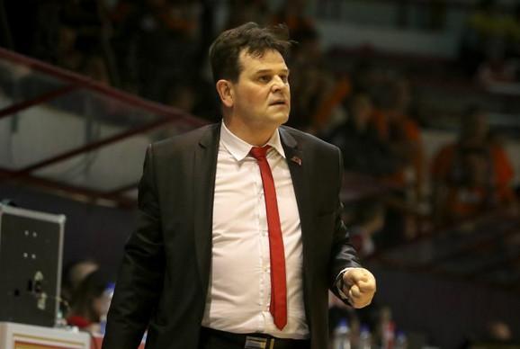 Trener Vršca Goran Topić